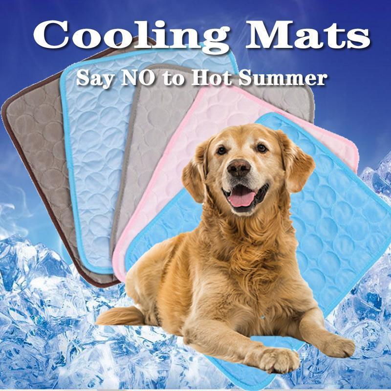 الصيف الحيوانات الأليفة التبريد الحصير للكلاب الصيف الكلب السرير لصغيرة / متوسط الكلاب / القطط الحيوانات الأليفة بارد أريكة وسادة فراش القط s / m / l / xl
