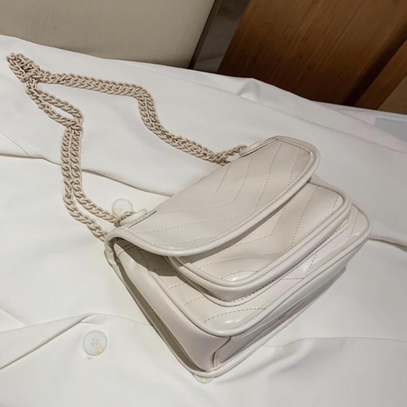 NUEVA Femenino Bolsa de mujeres Crossbody 2020 Alta calidad Elegante diseñador de moda Messenger PU Bolso Cadena Hombro Bolsa de giro Txguo