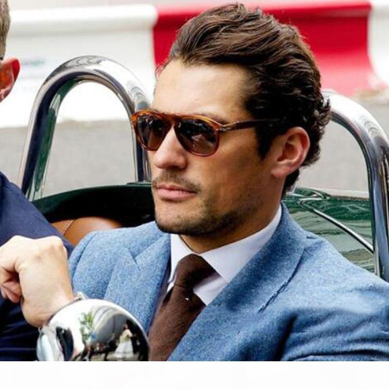 2020 Klassische Vintage Pilot Steve Stil Polarisierte Sonnenbrille 007 Männer, die Marke Design Sonnenbrille Oculos 649