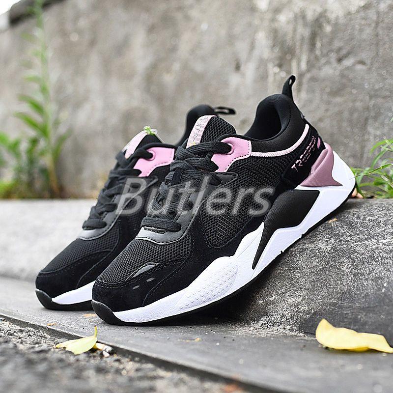 Classic TreePeri мода коренастые светоотражающие кроссовки черные фиолетовые мужчины кроссовки на US 8 EUR 41,5 для мужчин