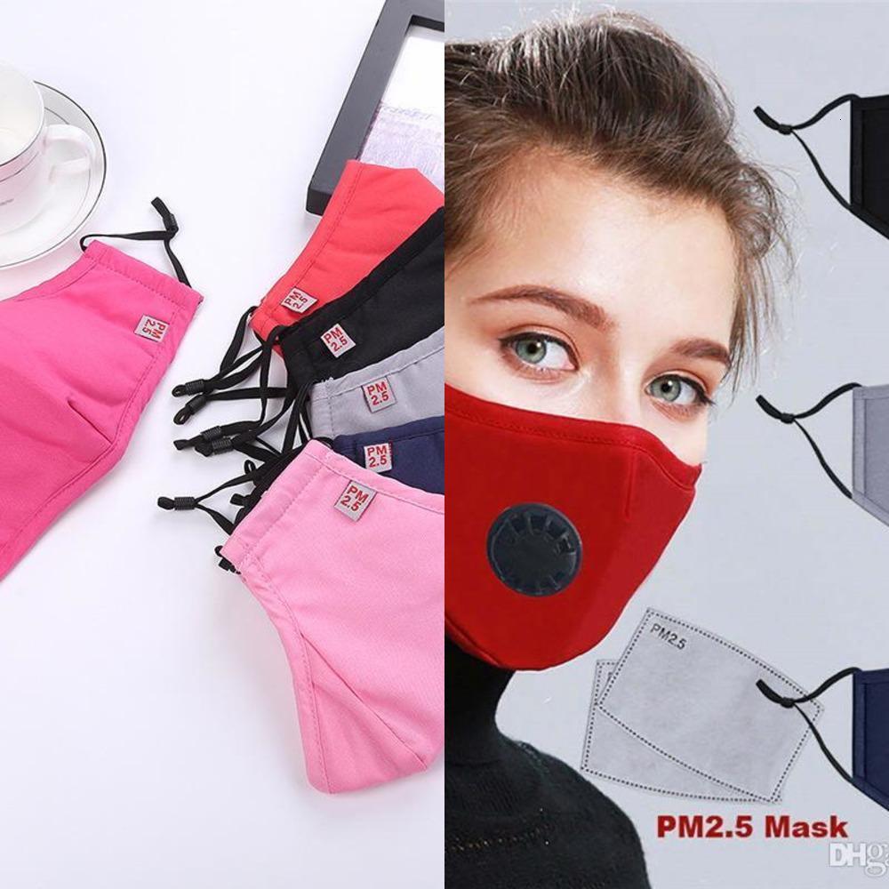 Factory49W4-Soek Hot многоразовая PM2.5 клапан дымки против пыли хлопчатобумажные маски рот с активированным углем фильтра R 3H80