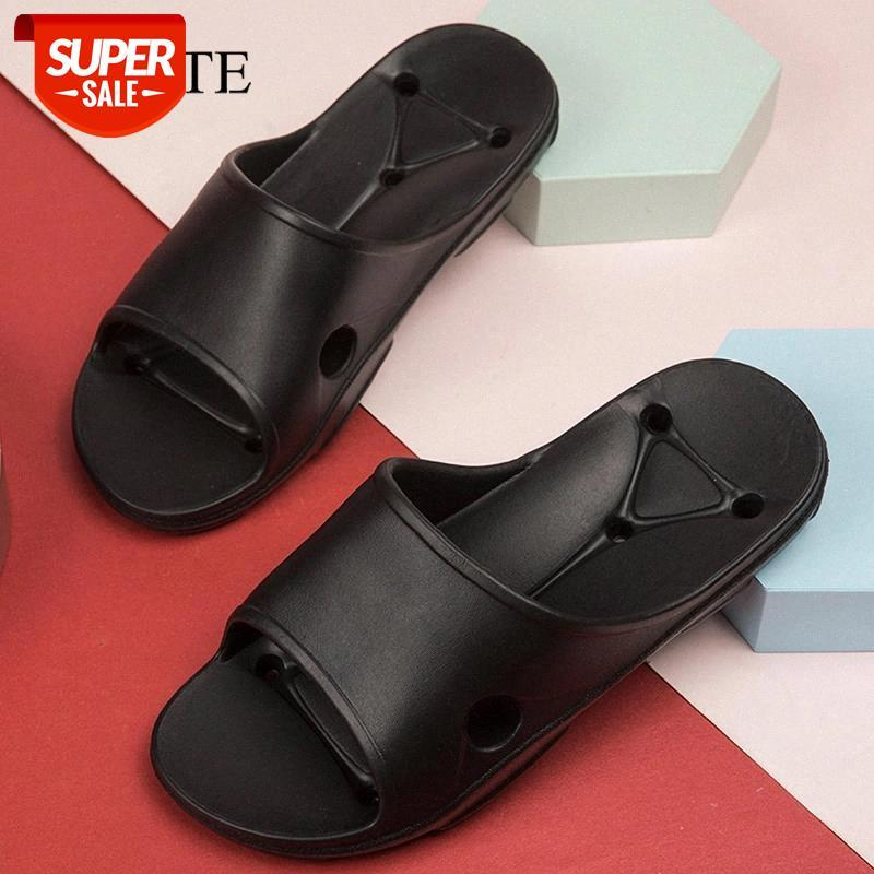 Летние мужские тапочки крытые массажные тапочки Wome мужчина ванная комната скользиты обувь для мужчин нескользящая пара флип фланпы Chaussure Femme # An2J