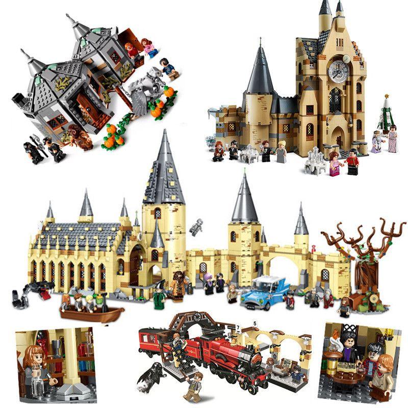 2020 New Magic Animals Castle Harried Building Blocks Brick Potter Dos Desenhos Animados Acção Figura Brinquedos Jogo Modelo Anime Presente Para Crianças C1118