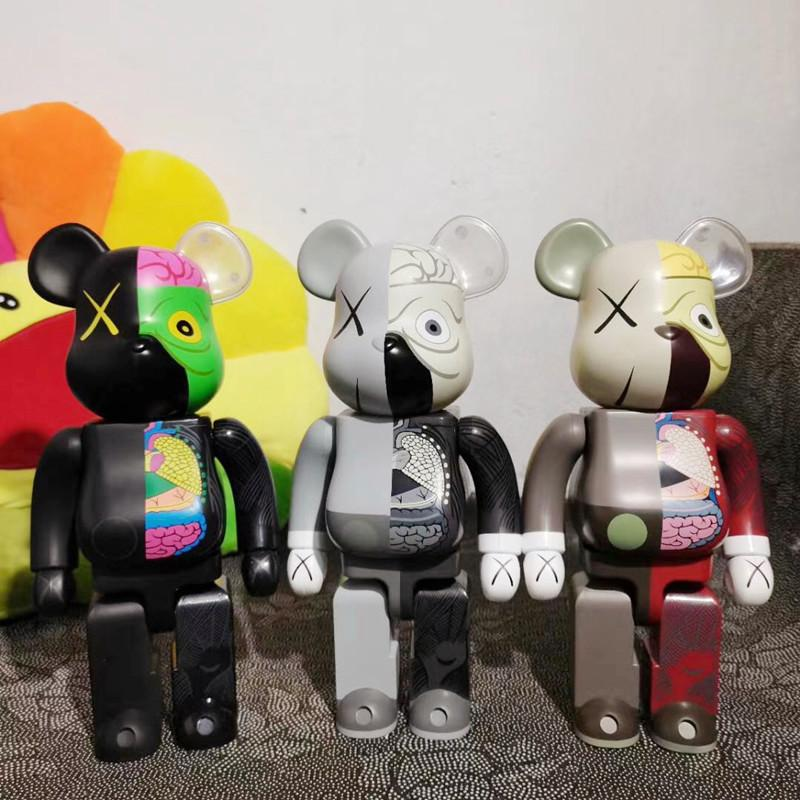 Popular 400% 28CM Bearbrick bear figures Toy For Collectors Be@rbrick Art Work ABS material model decoration toys gift