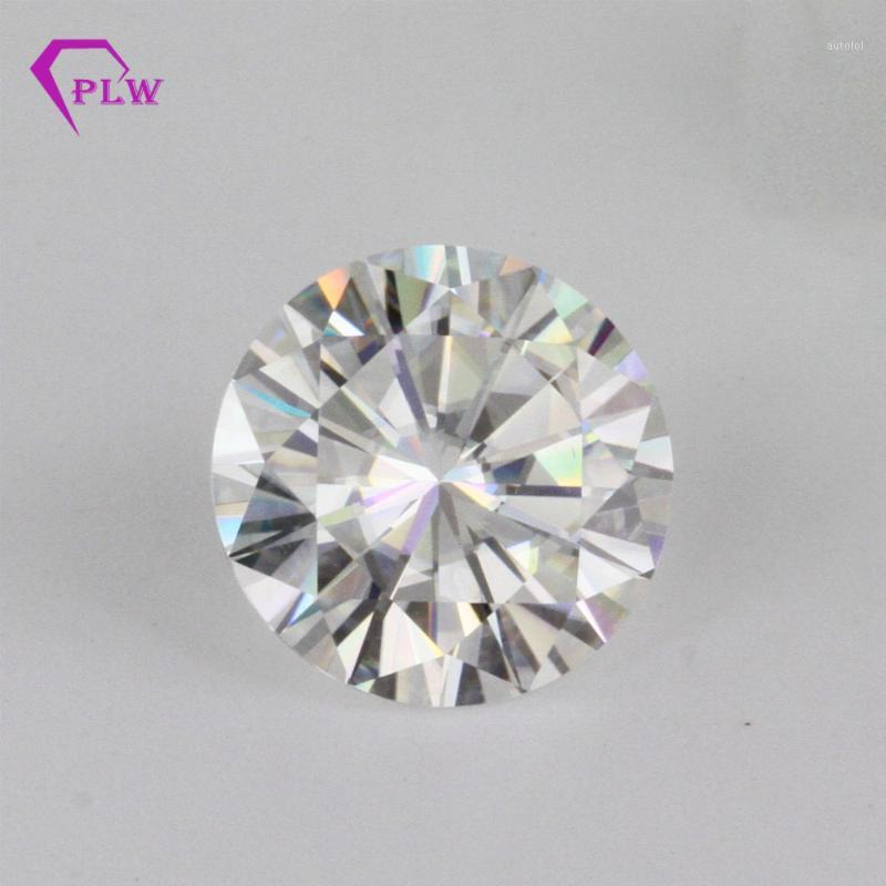 Factory price loose gemstones Moissanite GH white color 0.5 carat 5.0mm round brilliant cut clarity VVS for ring bracelet1