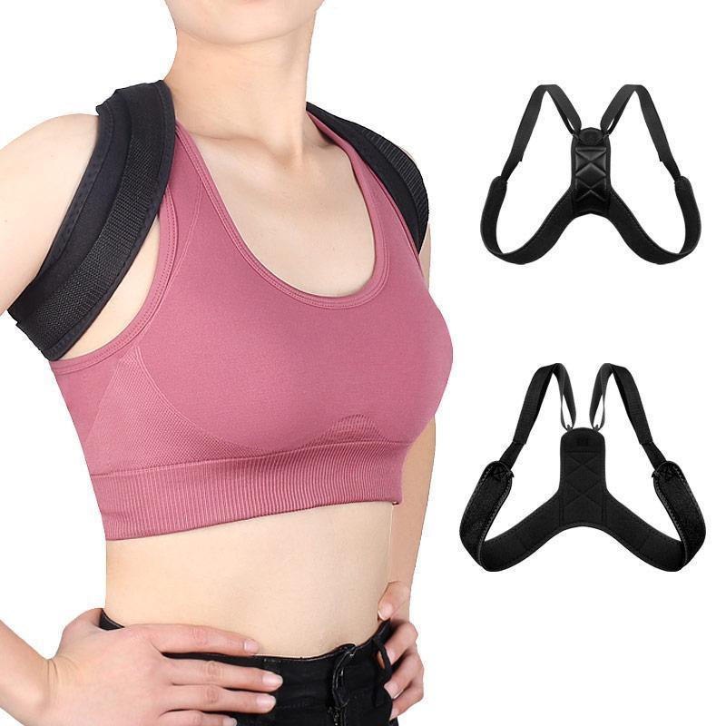 Brace Support Gürtel Verstellbarer Rückseite Haltung Korrektor Clavicle Rine Rücken Schulter Lendener Haltung Korrektur Korrektur Gürtel