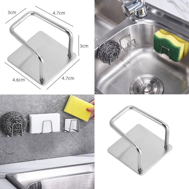 304 En acier inoxydable Cuisinière étanche Cuisine étanche Gadget pratique Pas de poinçonnage Toileaux de vaisselle sans tracelage 2 4ml J2