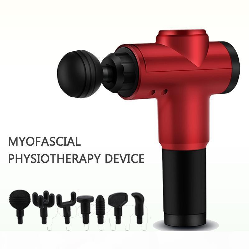 Handeld Home Use Fascia Pistolet Body Muscle Thérapie Sport Magie Massage Magic Mini Mini Vibration Massager De Deep Tissue Douleur