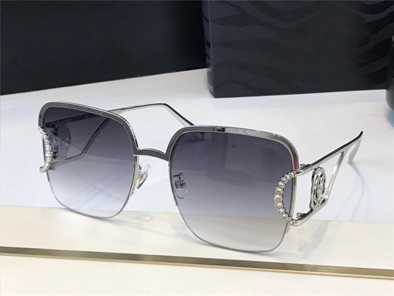 2030 new high-end sunglasses popular fashion ladies special metal half frame style anti-ultraviolet glasses full frame top quality Send box