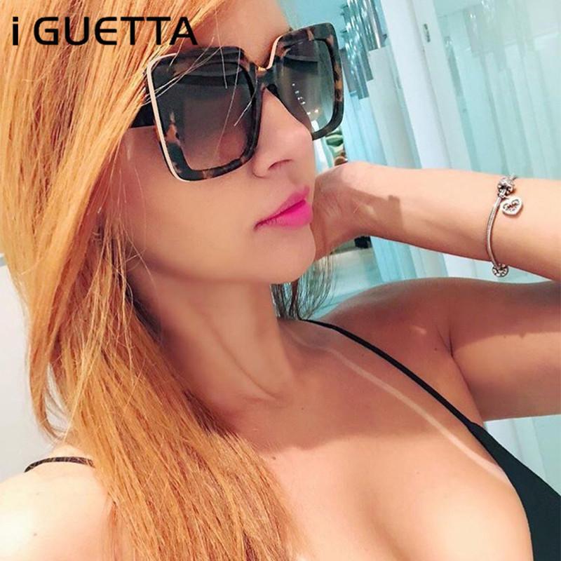 I Guetta Square Luxus Sonnenbrille Frauen Marke Designer Dame Frauen Sonnenbrille Vintage Sonnenbrille 2020 IYJB478