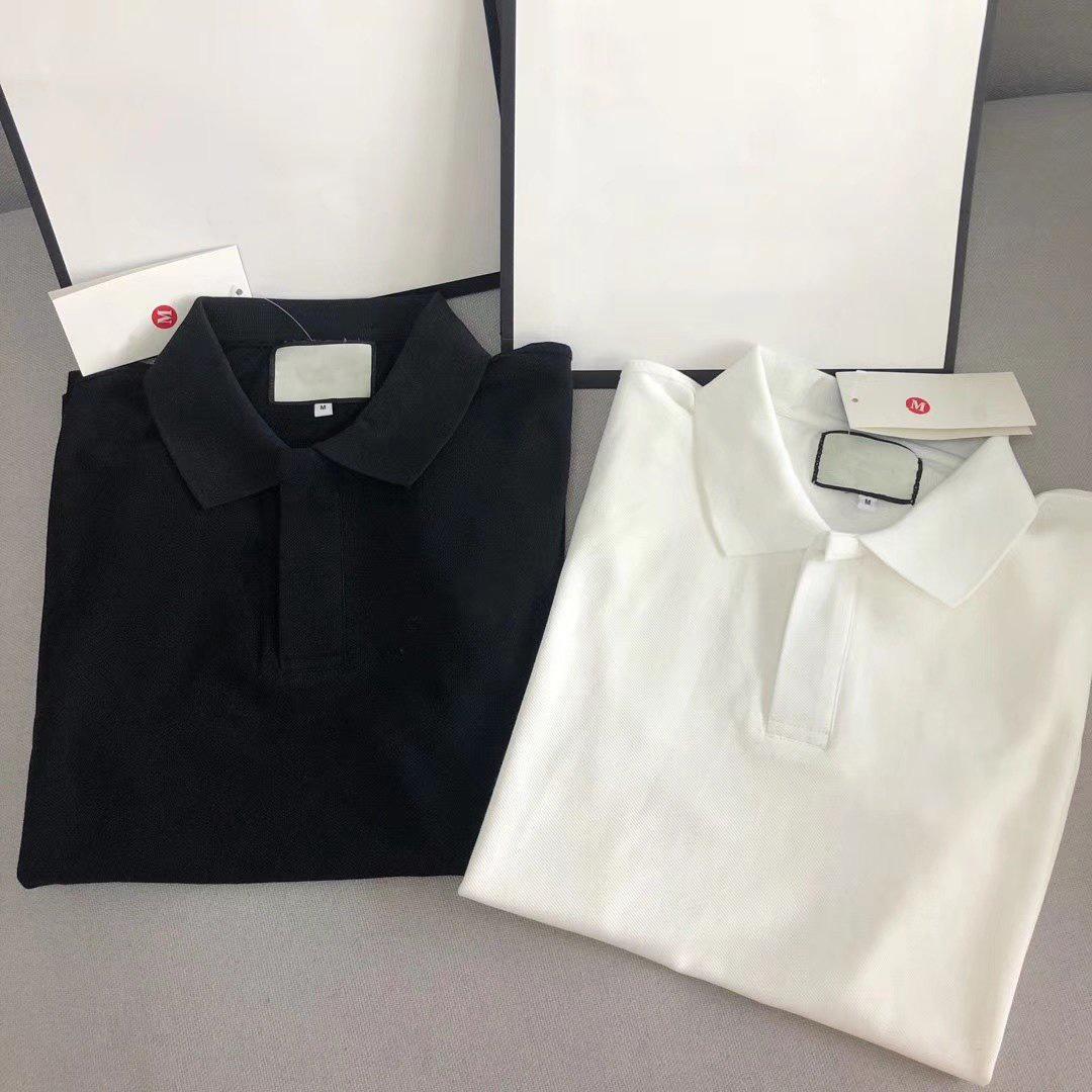 2020 Paar Frauen Mens Poloshirt Mode Marke Klassische Polos Männer Tops Stickerei Kurzarm Perfekte Detail Anti-Pilling Sommer T-Shirts