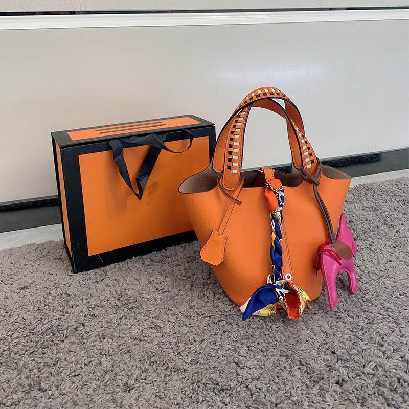 Mini Designer Bag Shopbag Tote Schulter Multicolor Weibliche Geldbörsen Frauen Luxurys Crossbody Echte Mode Handtaschen Reise Leder TNQVA XIIO
