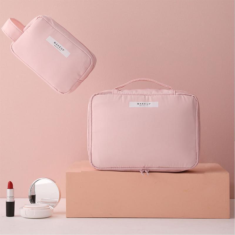 Bolso de maquillaje de las mujeres baratas Lindo Dropshipping Bolsa de almacenamiento portátil Viaje Cosmético impermeable Moda de la muchacha de gran capacidad