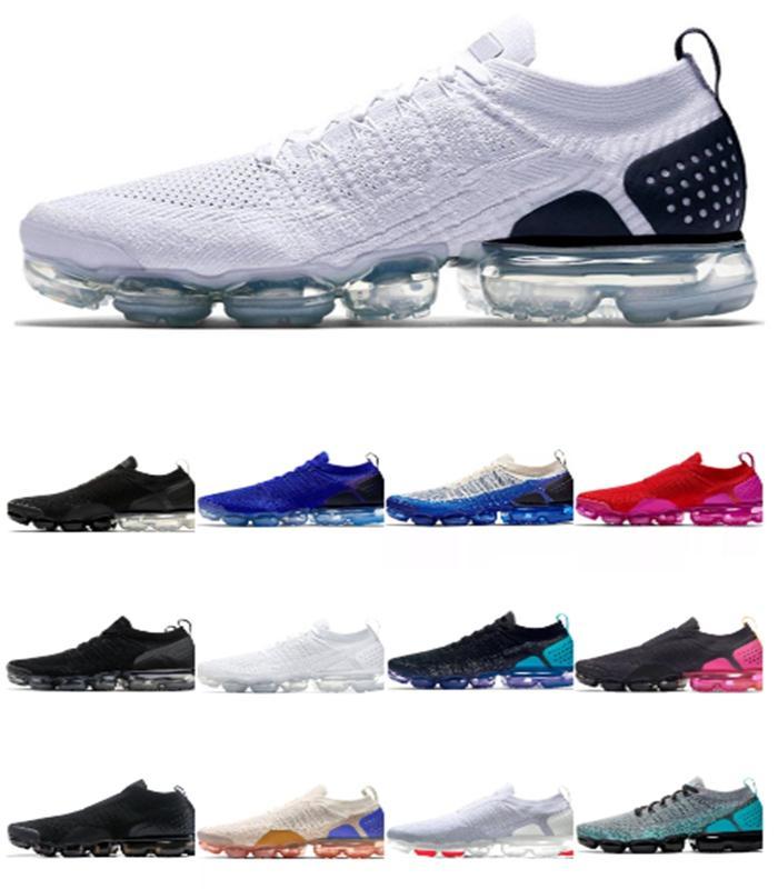 2020 Кроссовки 2,0 Moc Knit Тройной Черный Белый Wheat Gym Синий Дух Oreo Zapatos Chaussures женщин людей кроссовки Размер 36-46