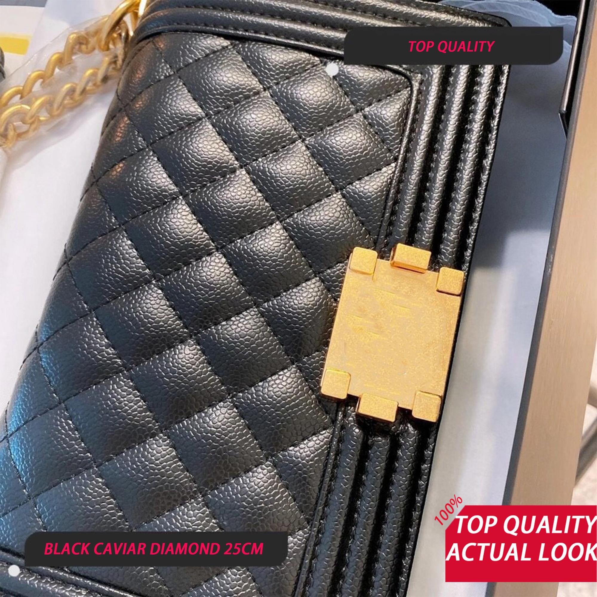 Satılan Luxurys Kalite Zincir Çanta CF Eboy Çanta Toptan Üst Çanta Crossbody Bayan Çanta 25 cm Sıcak Tasarımcılar Kadın Tasarımcılar Knjio