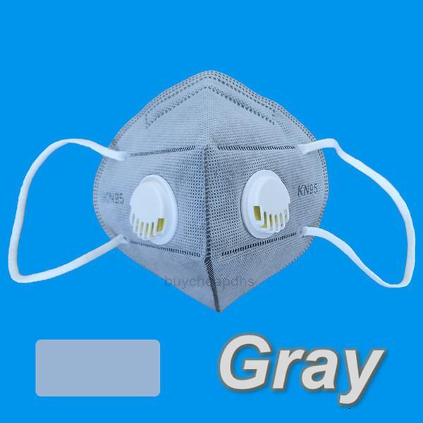Kn Free 95 DHL 2 Valvola di spedizione Maschera viso con doppio respiratori respiratori Black Grigio Bianco Blu Doccia Giallo MaxHXLVV