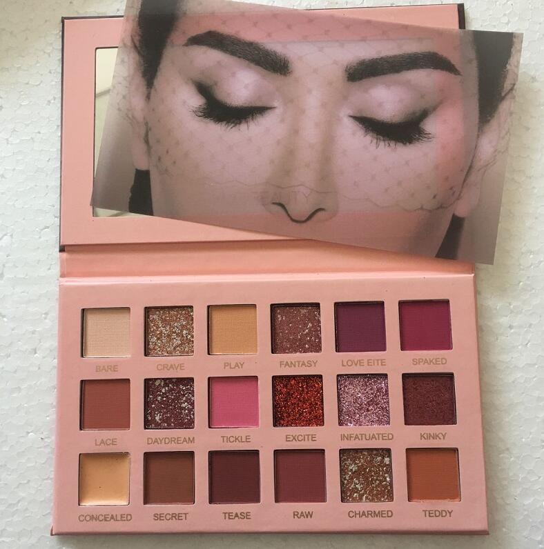Alta qualità! Maquillage Trucco Eyeshadow 18 Colori Tavolozza Shimmer Matte Eye Shadow trucco cosmetici DHL spedizione gratuita
