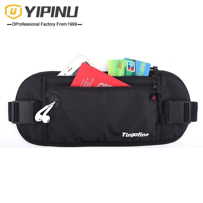 Cwmsports Men Male Waist Bag Waterproof Outdoor pack Purse Casual Large Phone Belt Bag Pouch Canvas Travel Phone Fanny Banana Waistpacks