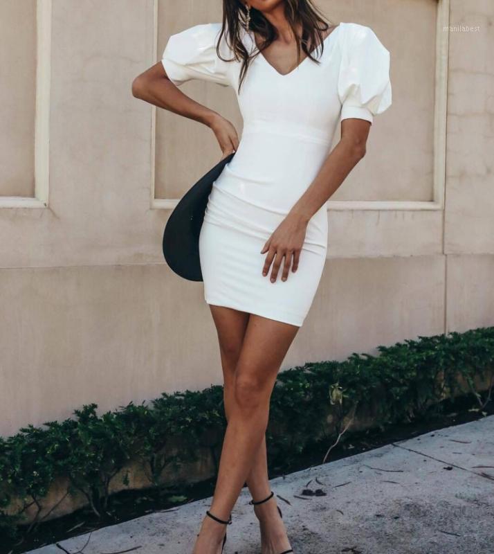 Celebridad Vestido de verano Top Calidad Sexy Negro Blanco Elegante Club Vintage Vintage Party Dress1
