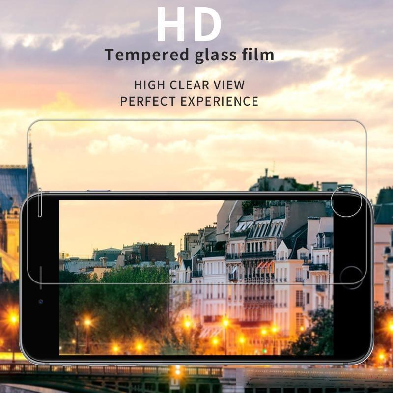 Vidrio templado para iPhone 7 8 6 6s Plus Iphone 11 7 SE 2020 Protector de pantalla de vidrio para iPhone 11 Pro Max X XS Max XR Glass
