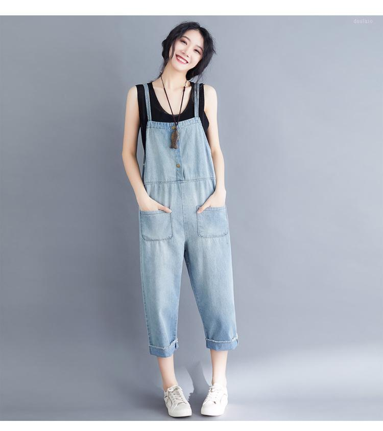 New Letterary Plus Size Brependers Breenders Jeans Sciolto Casual Age-Riduttore di nove punti Harlan Tangsuit1