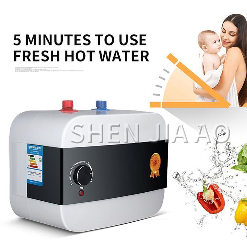 Velocidad Calentador de agua caliente caliente multifunción 8L Tipo de almacenamiento de agua Calentador eléctrico Mini cocina y baño