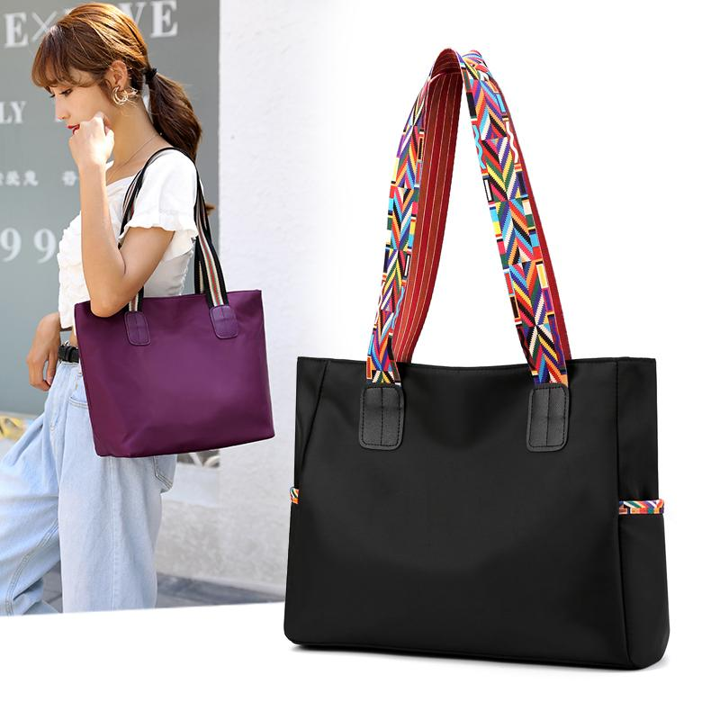 2020 New Hand Tote Women's Top-handle High Quality Female Shoulder Bags Handbags Nylon Ladies Shopping Bag Sac Femme