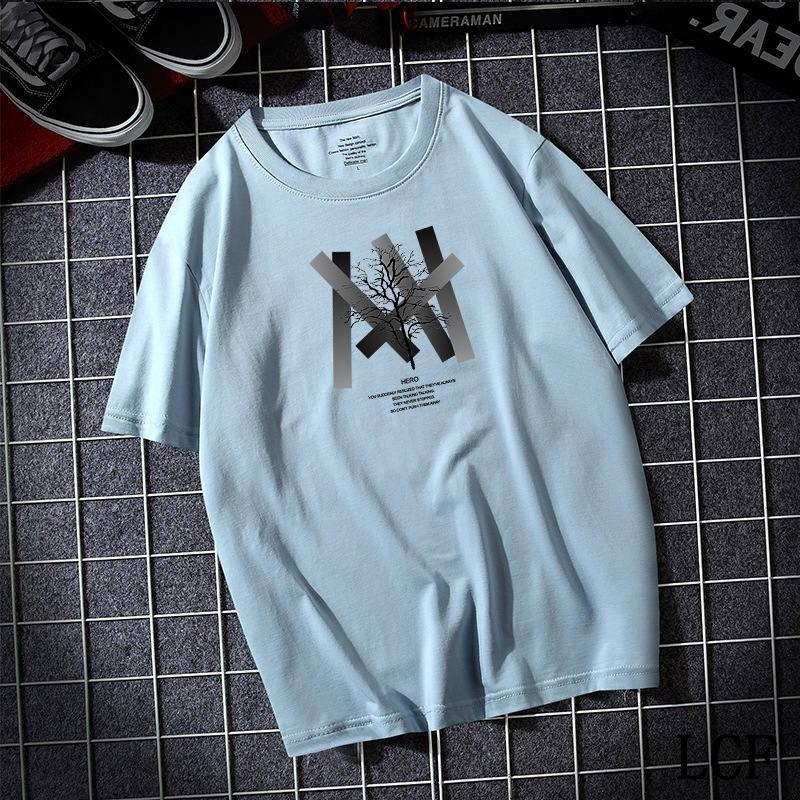 New Summer Men's t-shirt cotton white solid t shirt men causal o-neck basic tshirt male high quality classical tops a-41