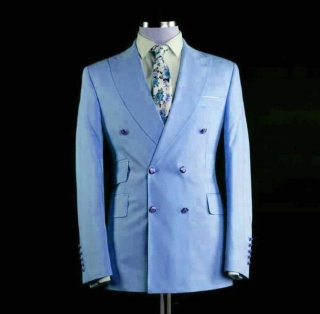Mais recentes projetos homens listrados terno Três peças Slim Fit Preto noivo Tuxedo Pinstripe Fatos de casamento para homens (Blazer + colete + calças)