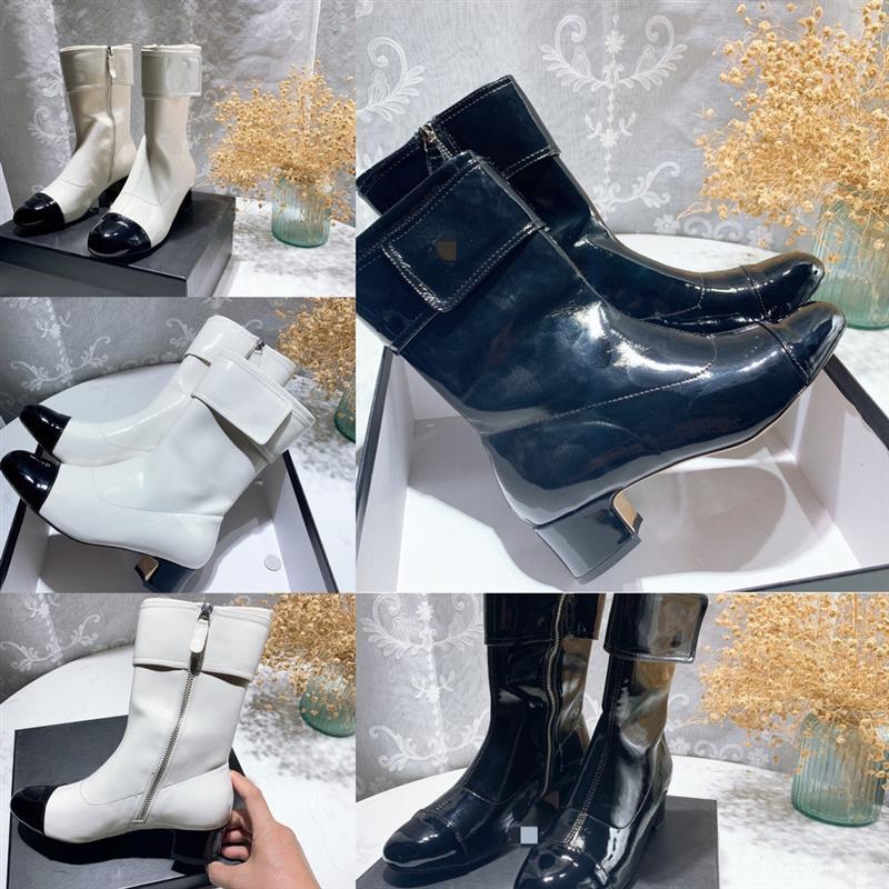 9os6w pode niamh mulher neve inverno botas moda preto luxuoso vaca bota alta qualidade camurça quente manter o dedo do pé redondo botas de salto handmade