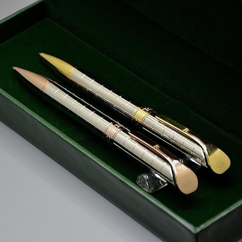 Beste Geburtstagsgeschenk-Set - Hohe Qualität RLX Branding Kugelschreiber Briefpapier Büro Schulbedarf Schreiben Sie glatte Kugelschreiber mit Boxverpackung