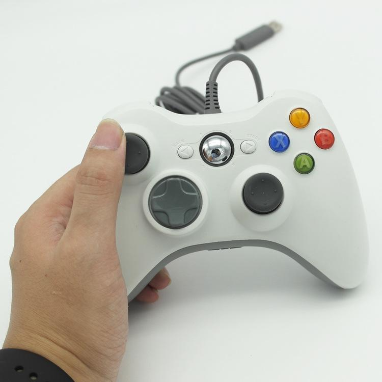 USB Wired Gamepad For Xbox 360 Controller Joystick For Official Microsoft PC Controller Windows 7 8 101