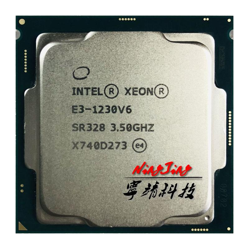 Intel Xeon E3-1230 V6 E3 1230V6 E3 1230 V6 3,5 GHz Quad-Core Acht-Thread-CPU-Prozessor 72W LGA 1151
