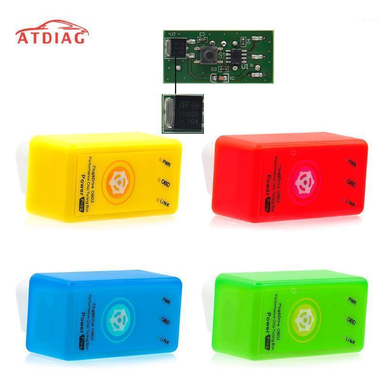 풀 칩 절약 15 % 연료 EcoBD2 니트로 벤치 튜닝 박스 재설정 버튼을 갖춘 디젤 벤진 엔진 용 Eco Bobd2 Nitro OBD2