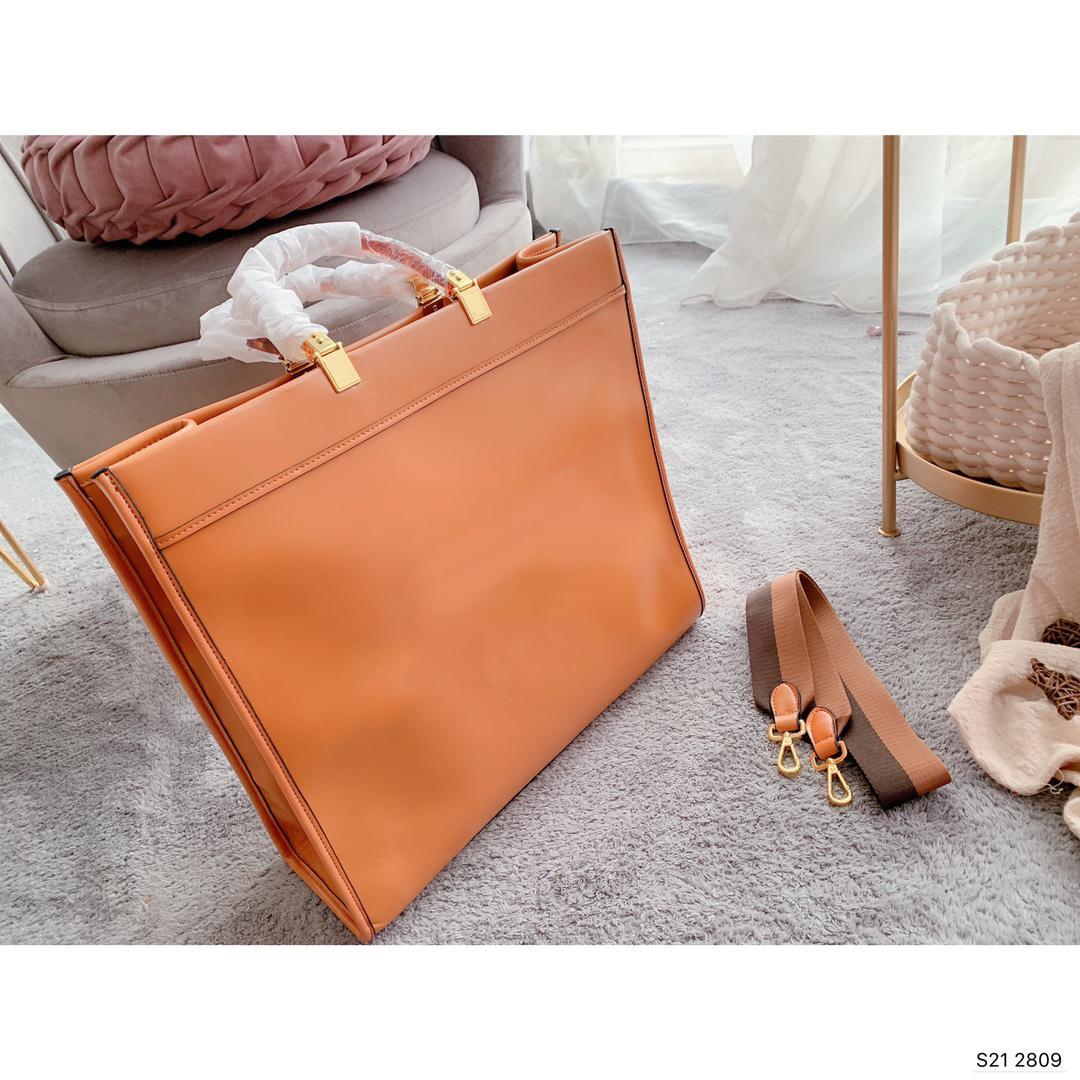 المرأة حقيبة تسوق العلامة التجارية عالية الجودة جلد طبيعي حمل أزياء جديدة الكتفلويس حقيبة رقم الرقم التسلسلي
