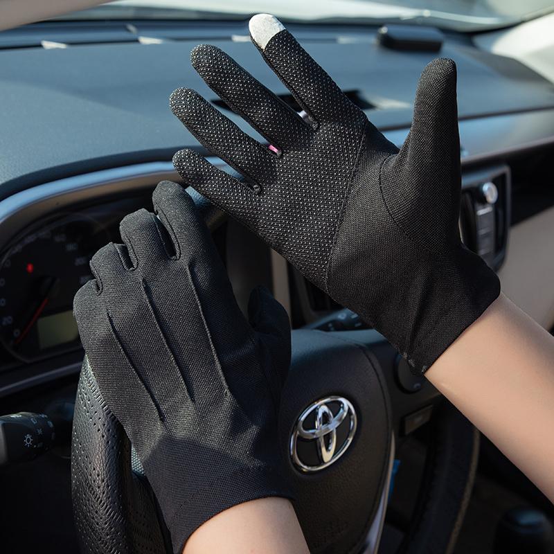 Мужские верховые перчатки Полный палец Тонкий тип Летний Водитель Специальная вентиляция Весна и Осенний мотоцикл