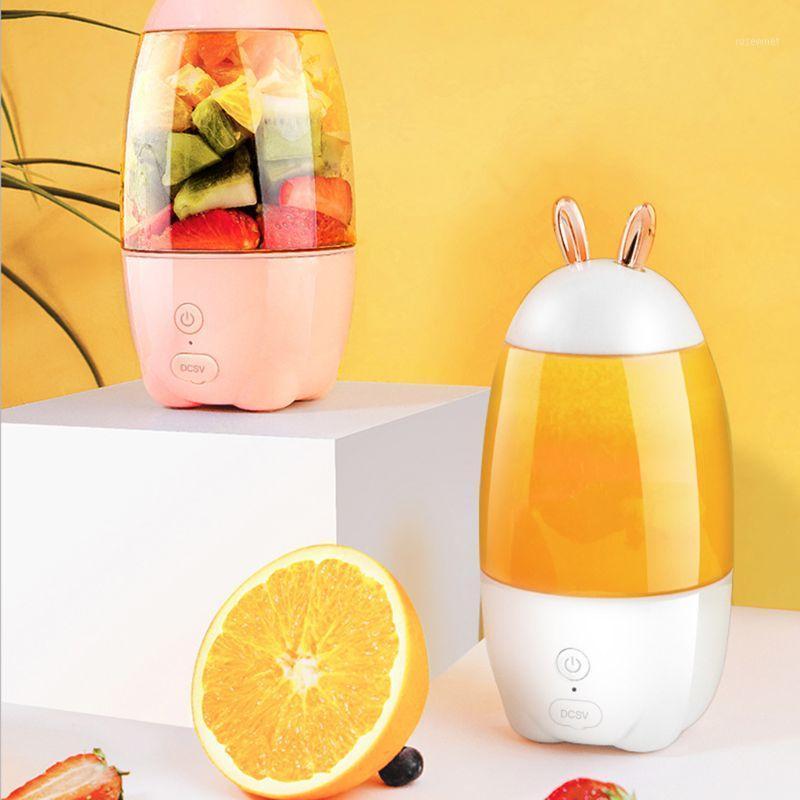 330 ml Portátil Mini USB Recargable Ecuador eléctrico Taza de Botella Fruta Blender Mezclador Extractor1