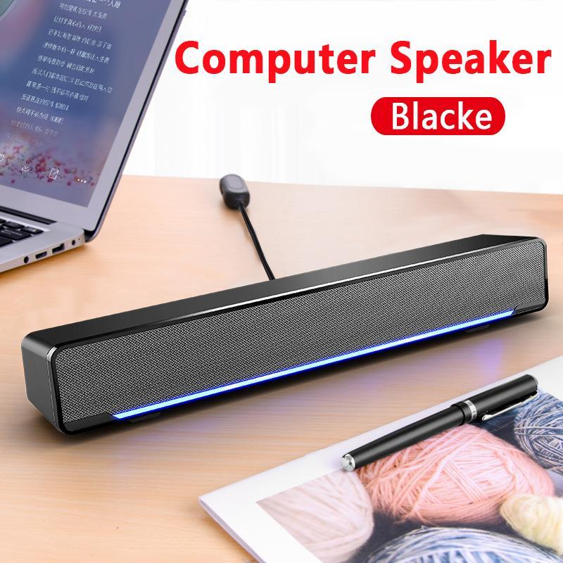 Portable Laptop/Computer/PC Speaker Subwoofer USB Soundbar For Tablet Stereo Music Sound Bar Stick Music Player Speakers