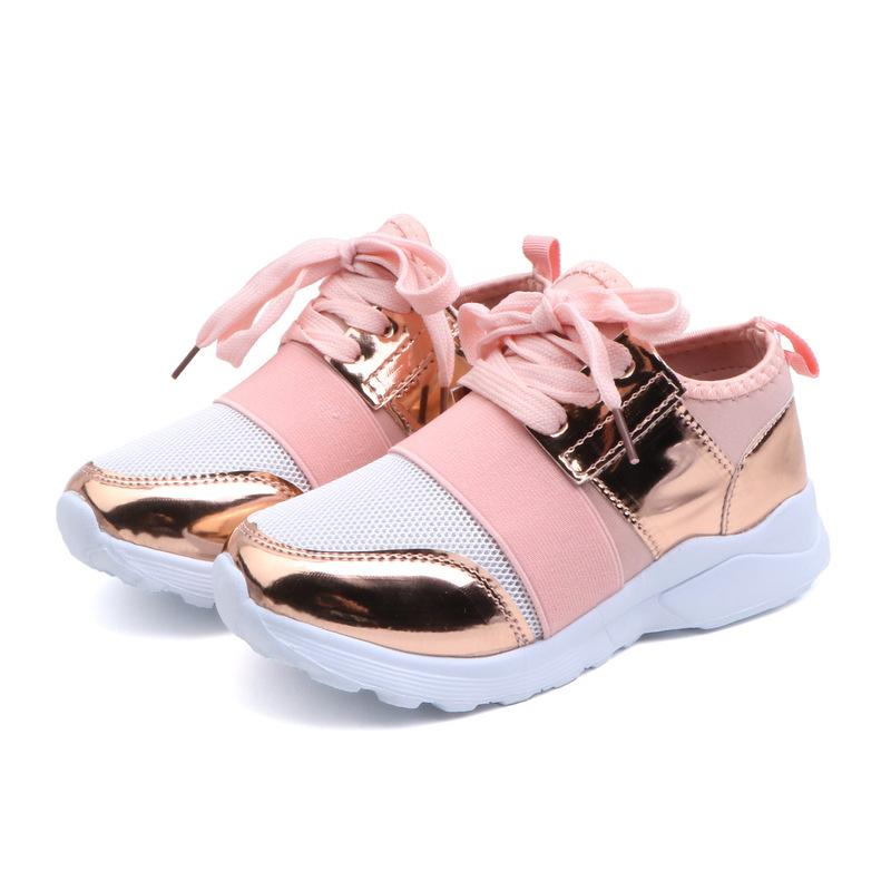 Comfy Kids Sneakers Shoes Girls Fashion Ultra-light Sneakers Boys Sport Shoes for Girls boys Leisure Shoes Children Sneakers Y1118