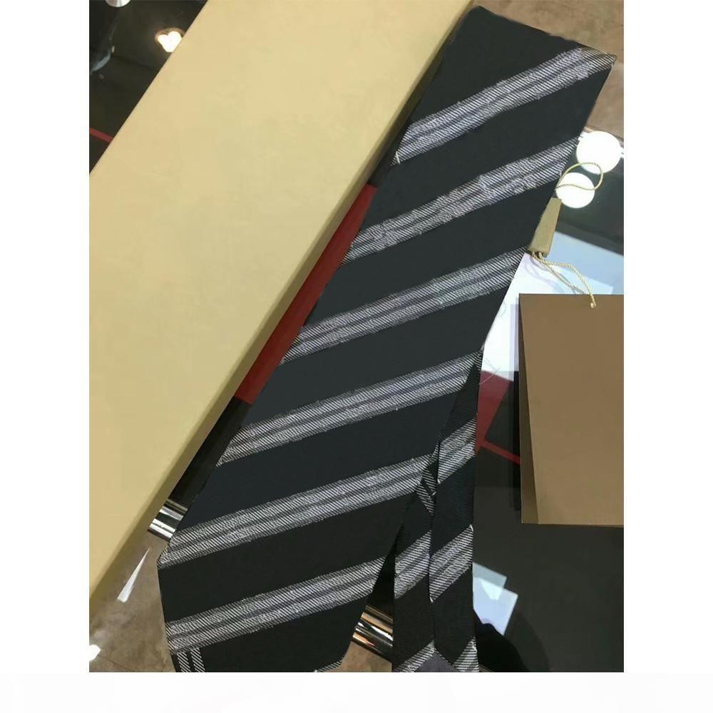 High-End-Seide-Krawatte Herren Business-Seidenkrawatten-Krawatten-Jacquard-Business-Krawatte Hochzeits-Krawatten-HeckbekleidungFSDF