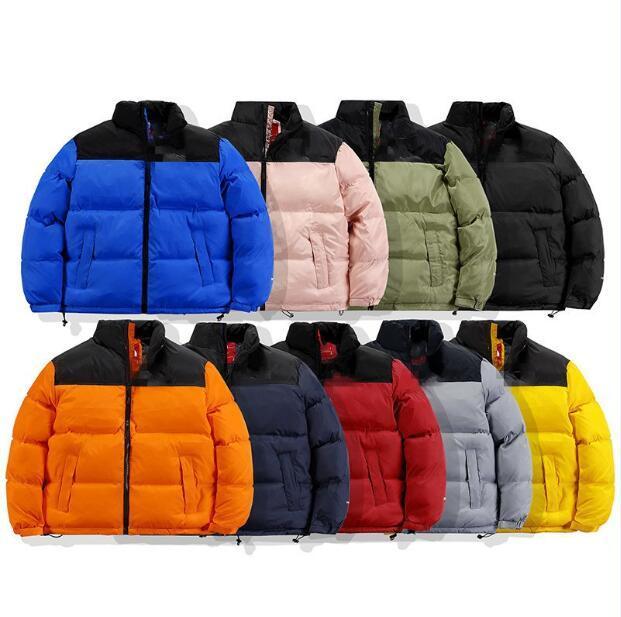 Veste Down Mens Parka Veste Hommes Femmes Haute Qualité Veste chaude Vêtements de dessus Vêtements de dessus Styliste Manteaux d'hiver 16 couleurs Sizem-3xl JK091