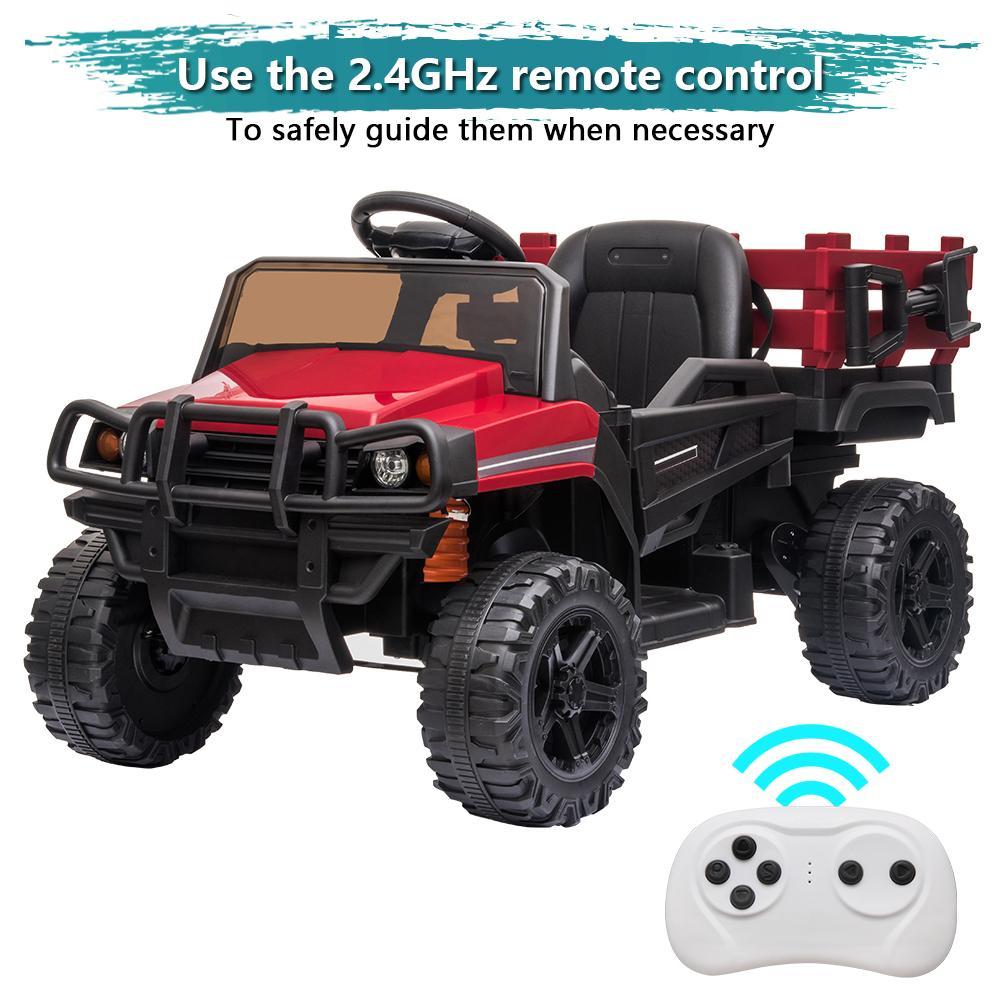 12 В Детские езды на автомобиле Детская электрическая игрушка бездорожья с двойным приводом с дистанционным управлением 3 скорость 3 цвета