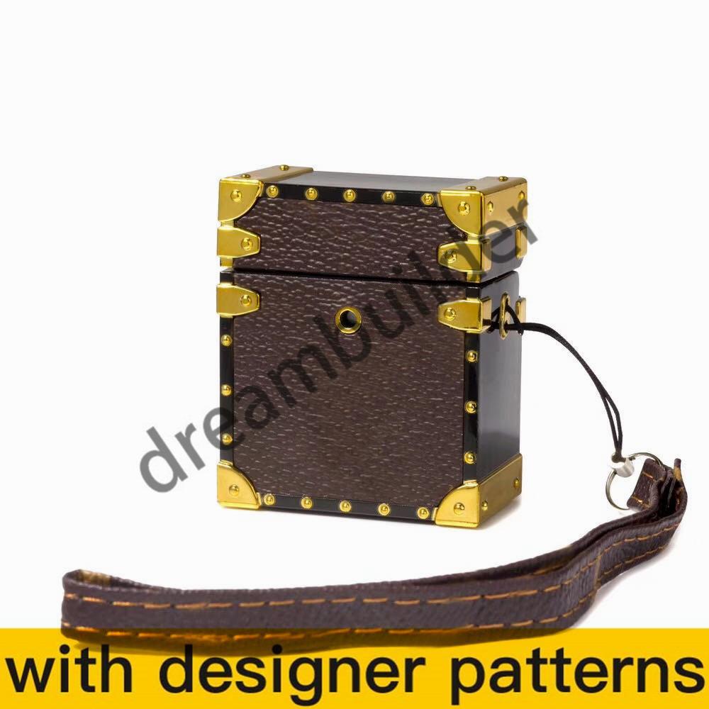 mit l aripods pro case drahtlose bluetooth kopfhörer Schutzhülle Mode kreative Airpoden 1/2 Fall Headpset Farbe Laser freies Verschiffen