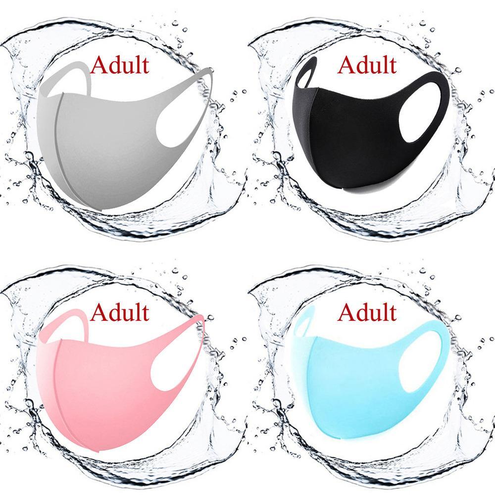 Детский дизайнерская маска Chritsmas Ледяная шелковая пылезащищенная маска для взрослых детей маска для лица против пыли моющиеся печать маски солнцезащитный крем воздуха01