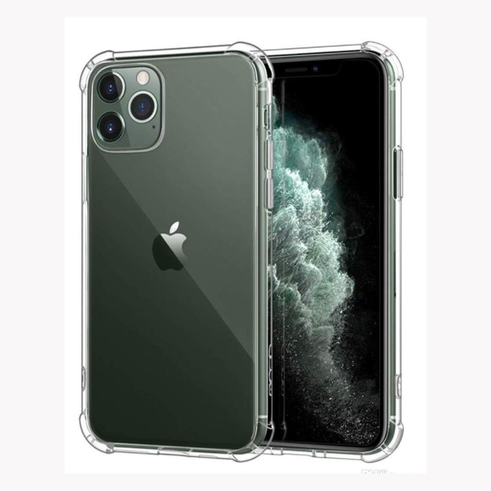 Transparent case for iPhone 12 11 Pro XS Max XR 8 7 6 Plus Shockproof Soft TPU 1.5mm back cover protector
