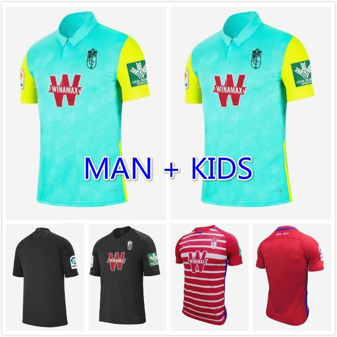 الرجال + الاطفال 2020 2021 غرناطة لكرة القدم الفانيلة 20 21 غرناطة CF الرئيسية بعيدا الثالثة جالدي هيريرا أنطونيو بويرتس