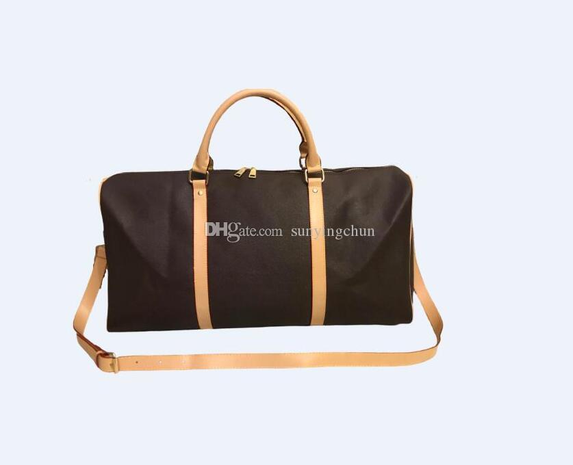 Новейшие мессенджеры кожаные сумки сумки бренда стиль дизайнер путешествия чемоданы сумки сумки Hot Duffel PU продать багажники ekqns