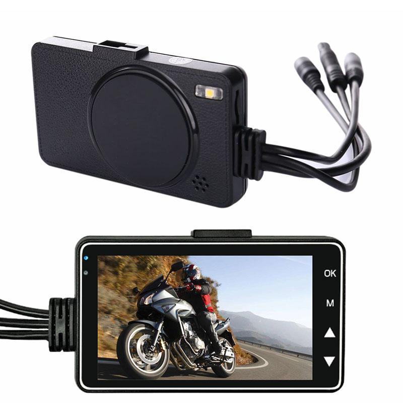 Motocicleta Camera traço Cam Frente Rear Dual Lens Gravador eletrônico para DU55 Outdoor