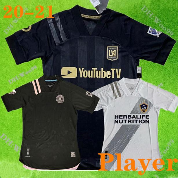NCAA Player Edition 2020 2021 Miami CF La Galaxy Los Angeles FC Player Version Jerseys de fútbol Vela Chicharito Beckham 20 21Football Player S