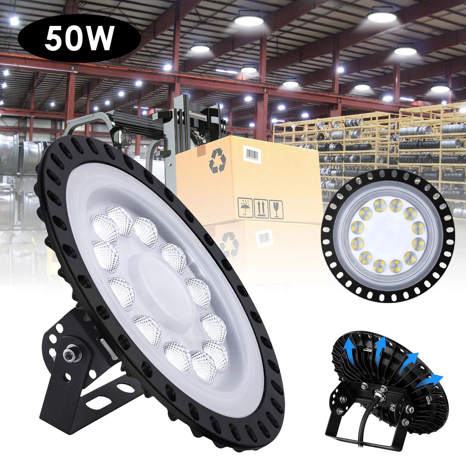 3RD الجيل الصناعي مصنع مستودع للماء ومقاوم الانفجار الصمام ضوء الصمام الترا سليم ufo LED ضوء خليج عالية